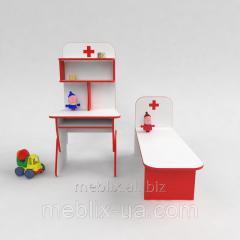 Игровая стенка Больница в детский сад