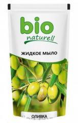 Tekuté mýdlo 500 ml Bio olivový Naturell doy-Pack 1/20