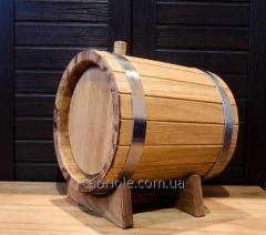 Wooden barrel for wine,  7 l.