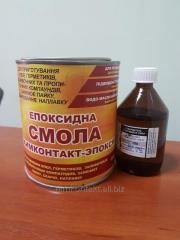 Смола эпоксидная Химконтакт-Эпокси 0,85 кг + отвердитель 100 г
