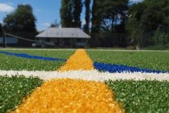 Artificial grass for multisports grounds