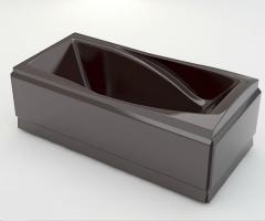 Ванна акриловая ARTEL PLAST Василиса (205) коричневая