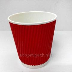 Paper cups for coffee of a corrugation of 110 ml