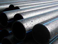 Pipes water polyethylene PE-100, PE-80
