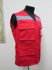 Vest with reflecting strips (for ambulance, zhk,