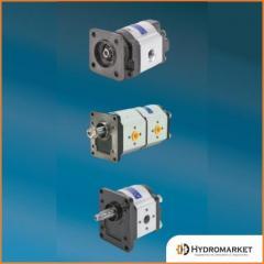 Gear pumps Jihostroj of a series J (2-18 cm3)