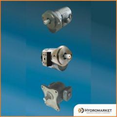Gear pig-iron pumps Jihostroj of the QHD0 series