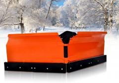 The snowplow (snegootvat) with the PVHU5P