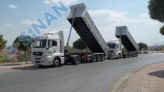 Полуприцеп для сыпучих грузов Sinan/Semi