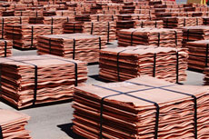Cathodes copper