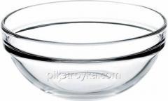 """Salátová mísa 5 """"= 12 cm sklo Shevs Pasabahce 1/6"""