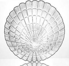 El juego de los platos 6пр. Ø24см de Atlantis Pasabahce de comer de cristal 6/4