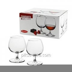 Set of glasses 6 of the ave. of 300 ml Cognac to Charente Pasabahce 6/4