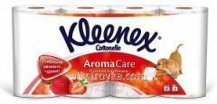 El papel higiénico Kleenex 6+2шт la Fresa 1/1 blanc