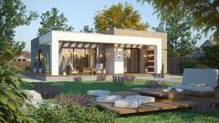 Huizen van hout karkassen