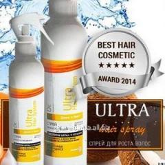 Спрей Ultra Hair System (УльтраХеирСистем) - активатор роста волос