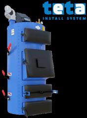 Котел твердотопливный Идмар СIС 38 кВт, 3 бар, ручная подача топлива
