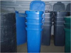 Container polymeric to 60 l