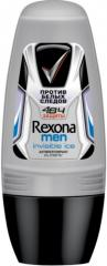 Roll-on deodorant Rexona 50 of ml men's Transparent ice 1/6
