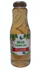 "Březová šťáva s borůvkami ""Organic"""