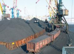 Coal of Tr ash-content 18,0 sulfur 1,5 moisture