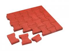 Rubber stone blocks Coil of 40 mm