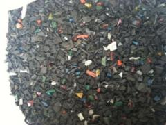Shredded software, PND, PVD, PS polymers, etc.