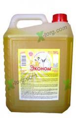 Płyn do mycia naczyń Sama Eco-friendly 5000ml Lemon 1/2