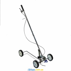The device for a marking of roads, parkings