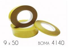 Клейкая лента двухсторонняя (4140) BOMA 9 х 50