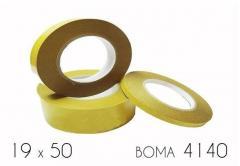 Клейкая лента двухсторонняя (4140) BOMA 19 х 50