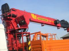 KMU-150 crane manipulator