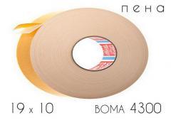 Клейкая лента двухсторонняя (4300) BOMA 19 х 10
