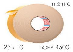 Клейкая лента пеносонова (4300) BOMA 25 х 10