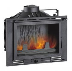 Chimney fire chamber of Uniflam 700 with a shiber