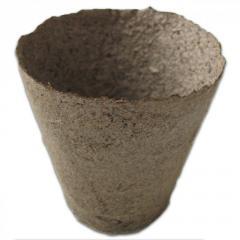 Торфяной горшочек, диаметр 8см