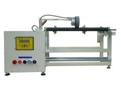 The machine for winding of the roasting sleeve,