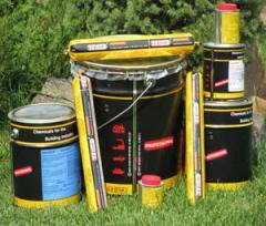 Полиуретановая краска для гидроизоляции и защиты.