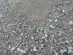 Sand-macadam mix