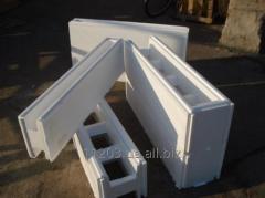 Timberings construction polipenostirolny