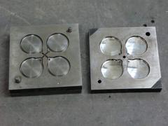 Compression molds for the syringe-pressov, design,