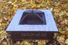 Kostrova table (street center, garden fireplace brazier) square