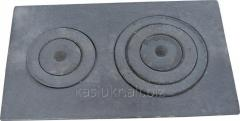 Плита чугунная печная с комфорками ПД-4 (750...