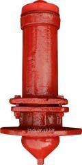 Гидрант пожарный подземный Н-0, 5 м. (чугун)
