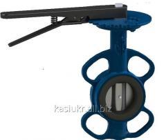 Затвор поворотный дисковый межфланцевый