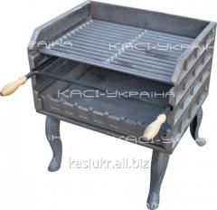 Brazier grill (barbecue complex) pig-iron on legs No. 9