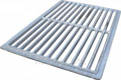 Lattice pig-iron grill barbecue of pig-iron 345 x 515 mm.