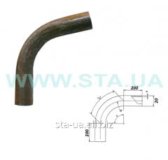 Branch (knee) bent steel Du of 20 mm of GOST