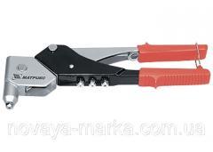 Заклепник, 263 мм, поворотний 0-360 градусів, заклепки 2,4-3,2-4,0-4,8 мм MTX 405339