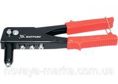Заклепник, 225 мм, заклепки 2,4-3,2-4,0-4,8 мм / / MTX 405159